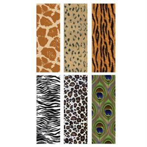 Picture of Animal Print Rectangle Locket Backdrops