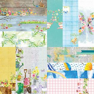 "Picture of Springtime by Lauren Hinds 2"" Border Strips - Set 12"